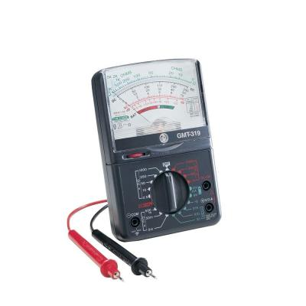 19-Range Analog Meter