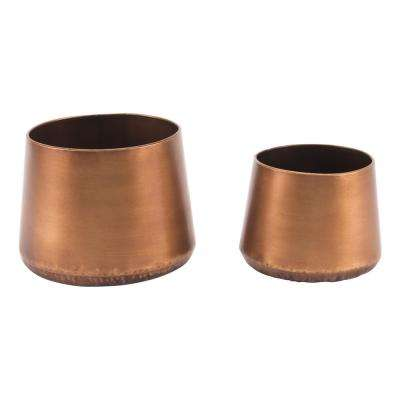 Copper Steel Planter (2-Pack)