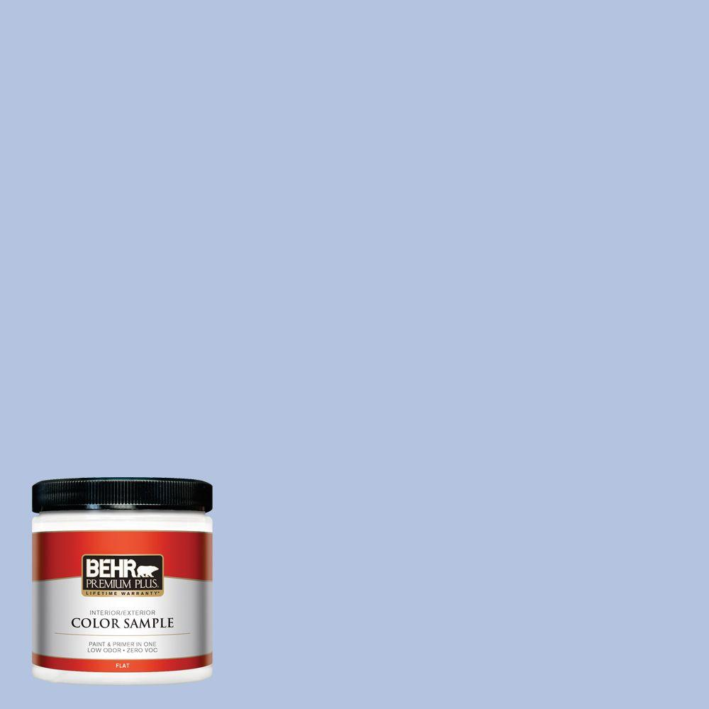 600c 3 Periwinkle Bud Flat Interior Exterior Paint And Primer In One Sample