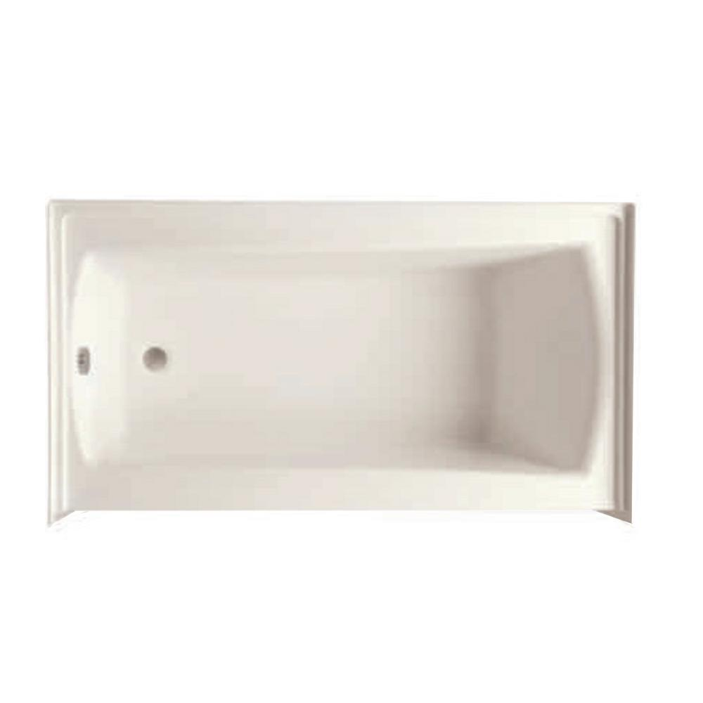 Cooper 30 60 in.Acrylic Right Drain Rectangular Alcove Soaking Bathtub in