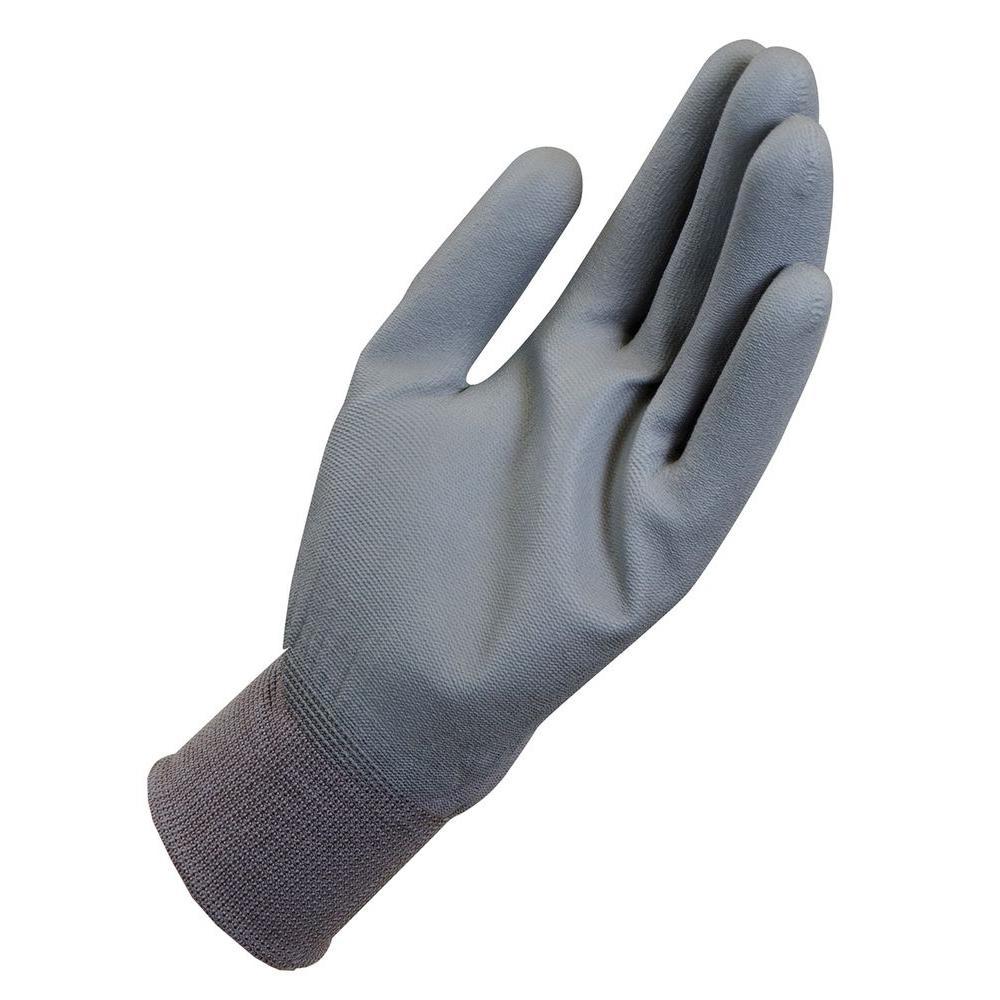 X-Large Multipurpose Work Gloves, Gray