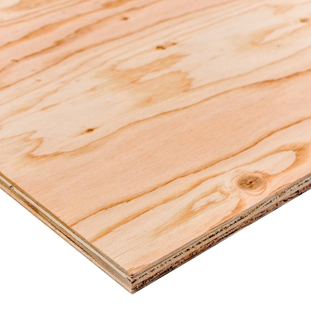 Dimensions BC Sanded Plywood (Common: 23/32 in. x 2 ft. x 2 ft.; Actual: 0.703 in. x 23.75 in. x 23.75 in.)
