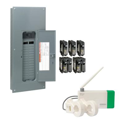 Square D Qo 200 Amp 54 Space 54 Circuit Indoor Main Breaker Plug On Neutral Load Center With Cover Qo154m200pc The Home Depot
