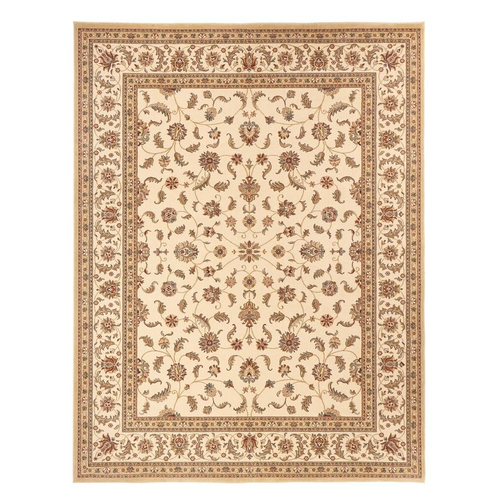 Home Decorators Collection Maggie Cream 5 Ft. 3 In. X 7 Ft