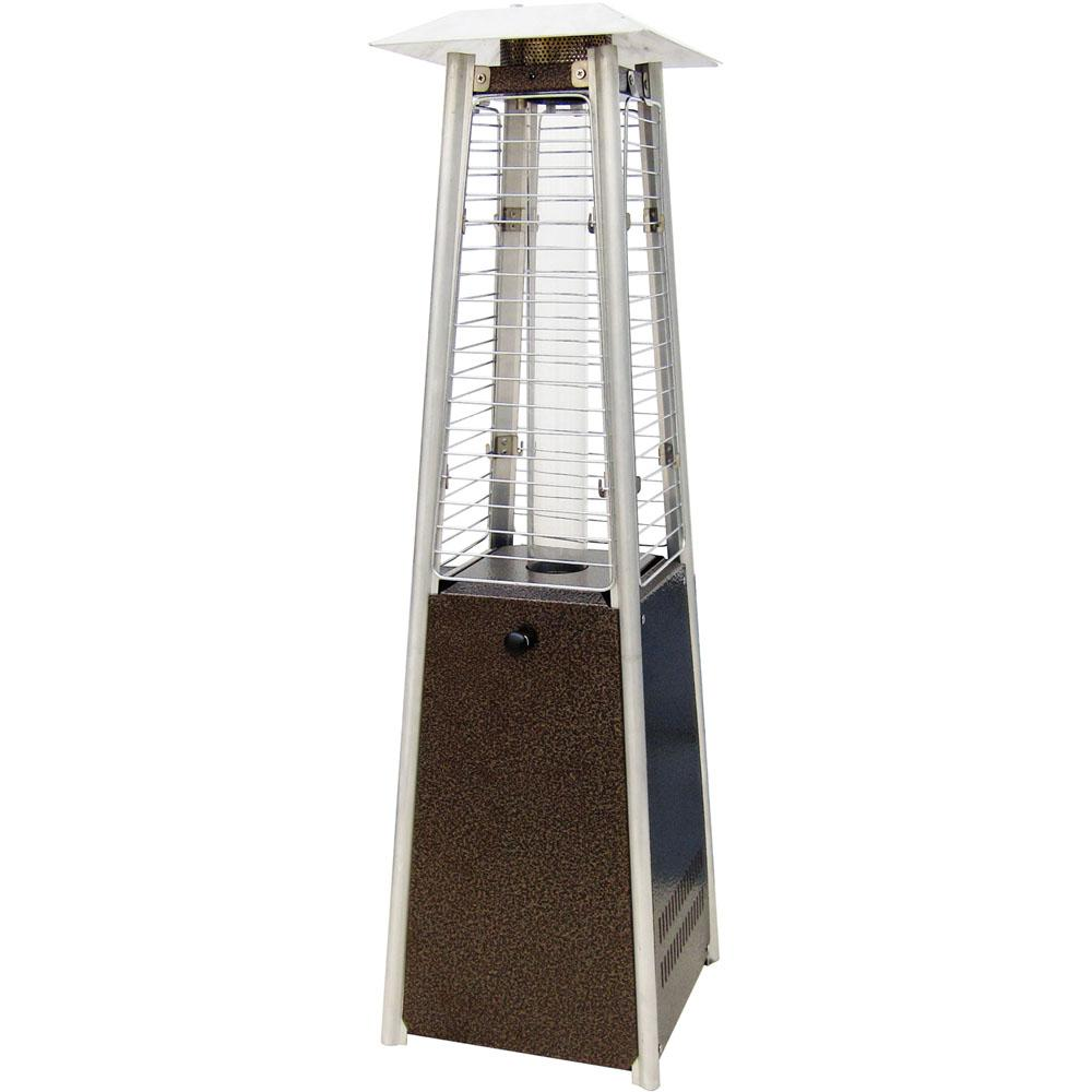 This Review Is From Mini Pyramid Tabletop 11 000 Btu Hammered Bronze Propane Patio Heater