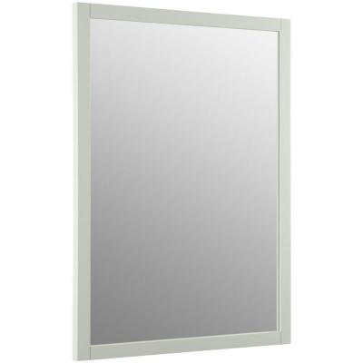 Evandale 32 in. W x 24 in. L Wall Mirror in Lily
