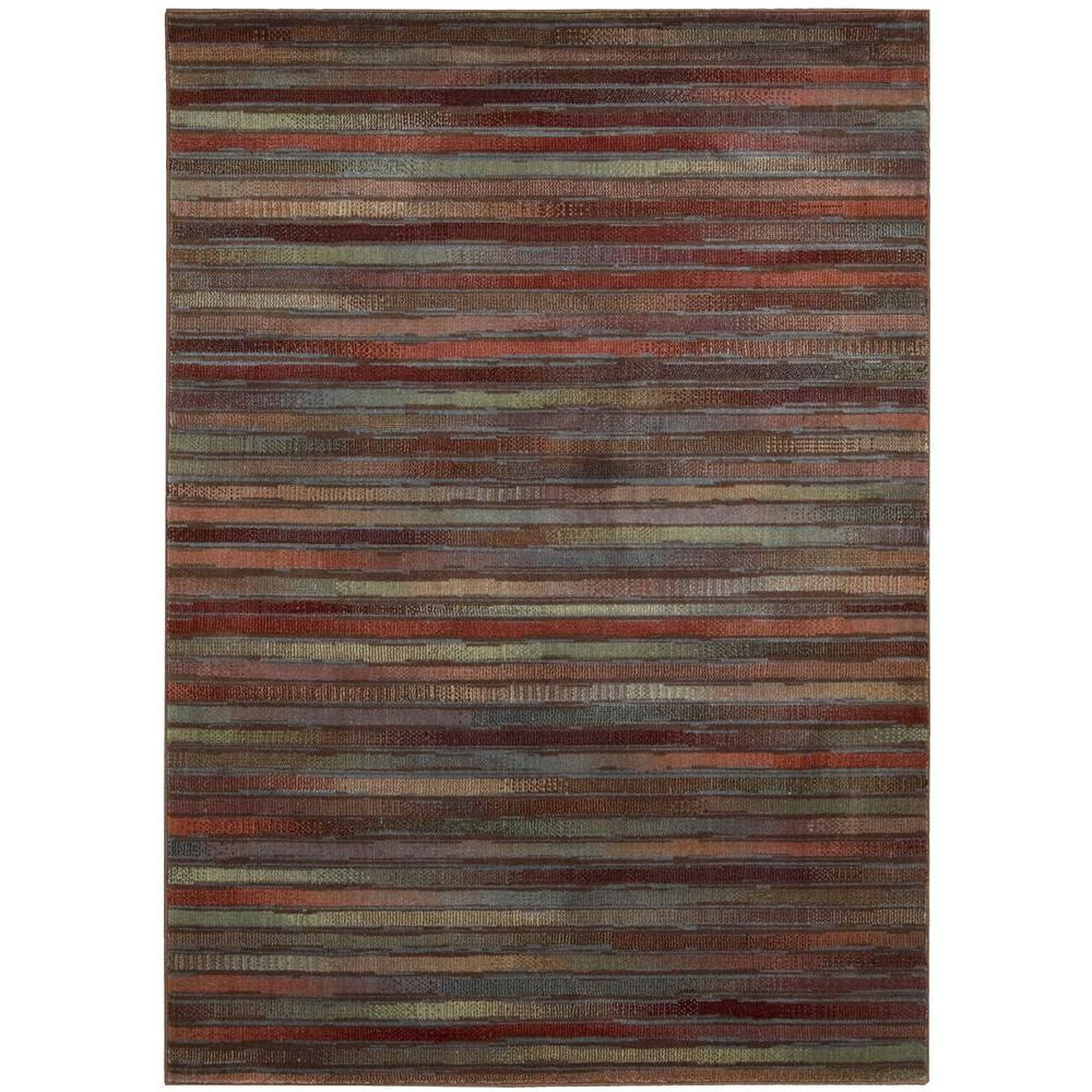 Expressions Multicolor 3 ft. 6 in. x 5 ft. 6 in.