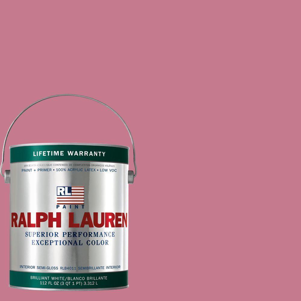 Ralph Lauren 1-gal. Jackie Pink Semi-Gloss Interior Paint