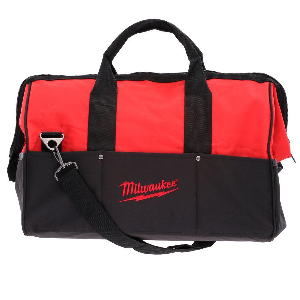 Milwaukee 18 In Contractor Bag Red 48 55 3510 The Home