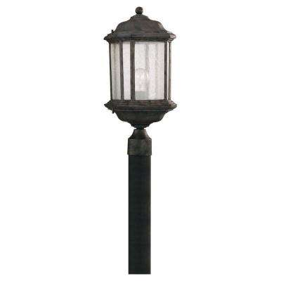 Kent 1-Light Outdoor Oxford Bronze Post Light