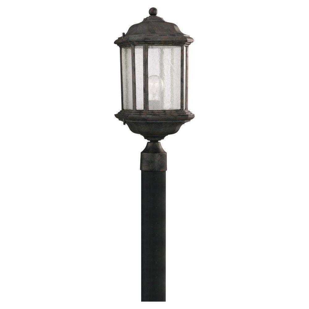 Kent 1-Light Outdoor Oxford Bronze Post Light