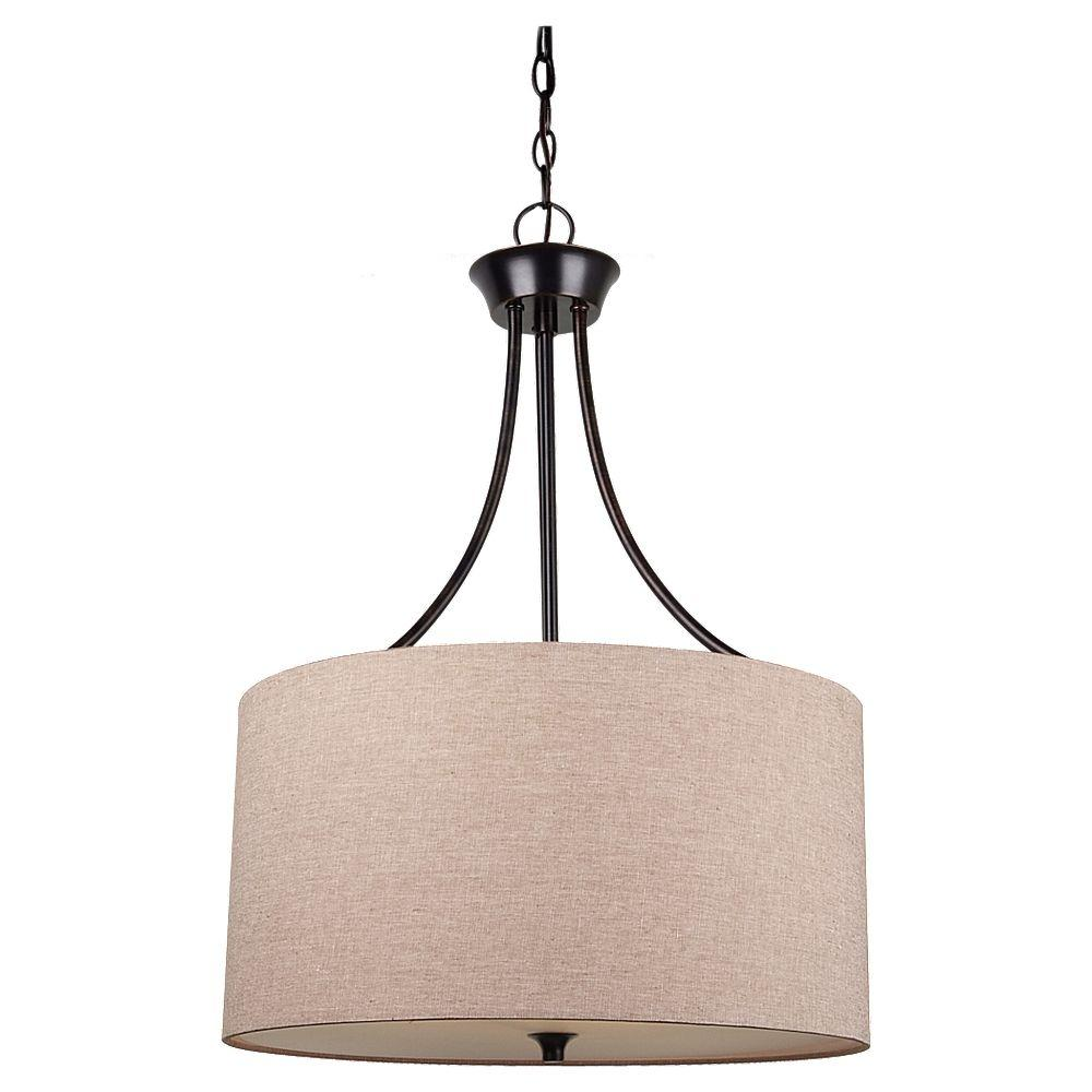 seagull pendant lighting. Sea Gull Lighting Stirling 3-Light Burnt Sienna Pendant Seagull A
