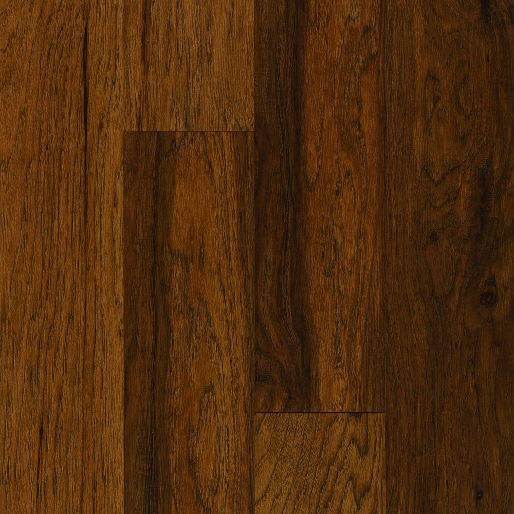Bruce Take Home Sample - American Vintage Scraped Vermont Syrup Solid Hardwood Flooring - 5 in. x 7 in.