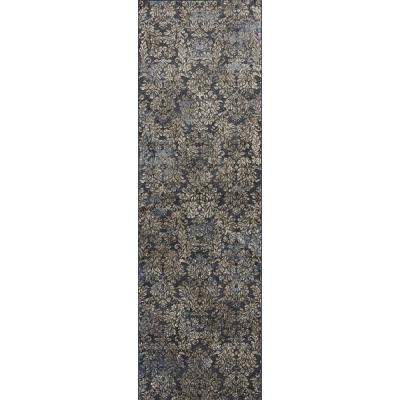 Bernadette Green 2 x 6 ft. Silk Blend Area Rug