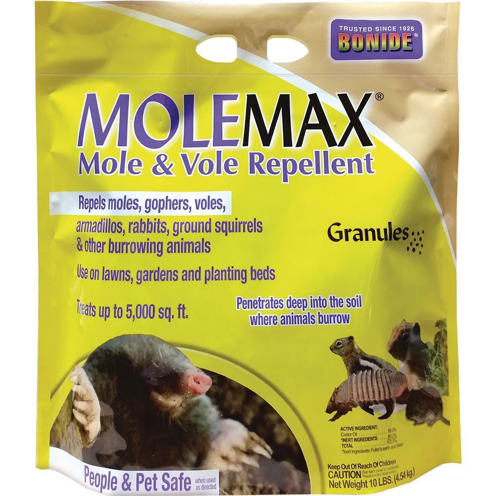10 lbs. MoleMax Mole and Vole Repellent Granules