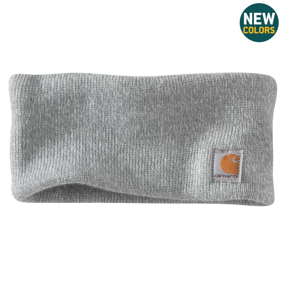 Women's OFA Heather Gray Marl Acrylic Headband Hat