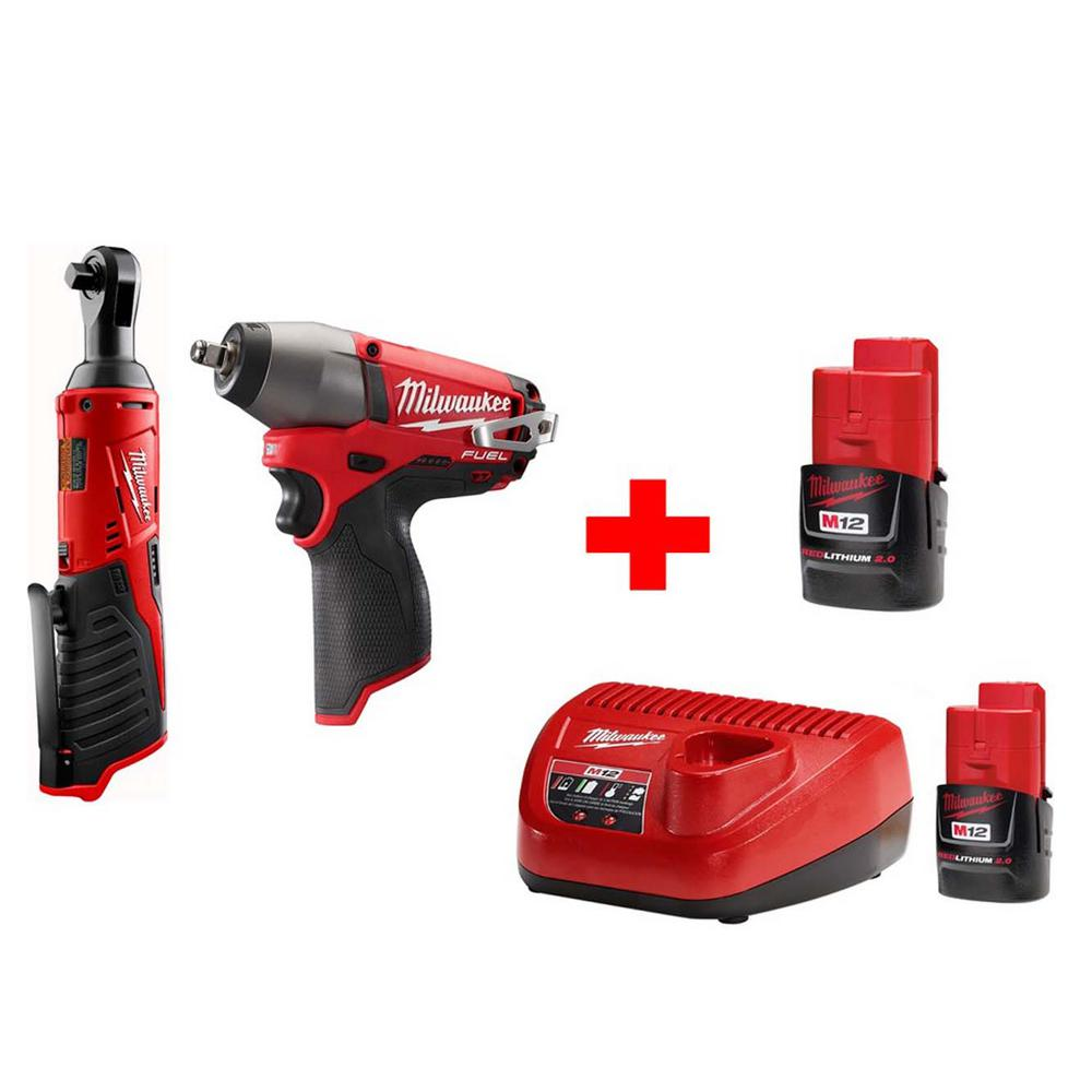 3693370c6b4 This review is from M12 12-Volt Lithium-Ion Cordless 3 8 in. Ratchet and 3 8  in. Impact Wrench Combo Kit (2-Tool)