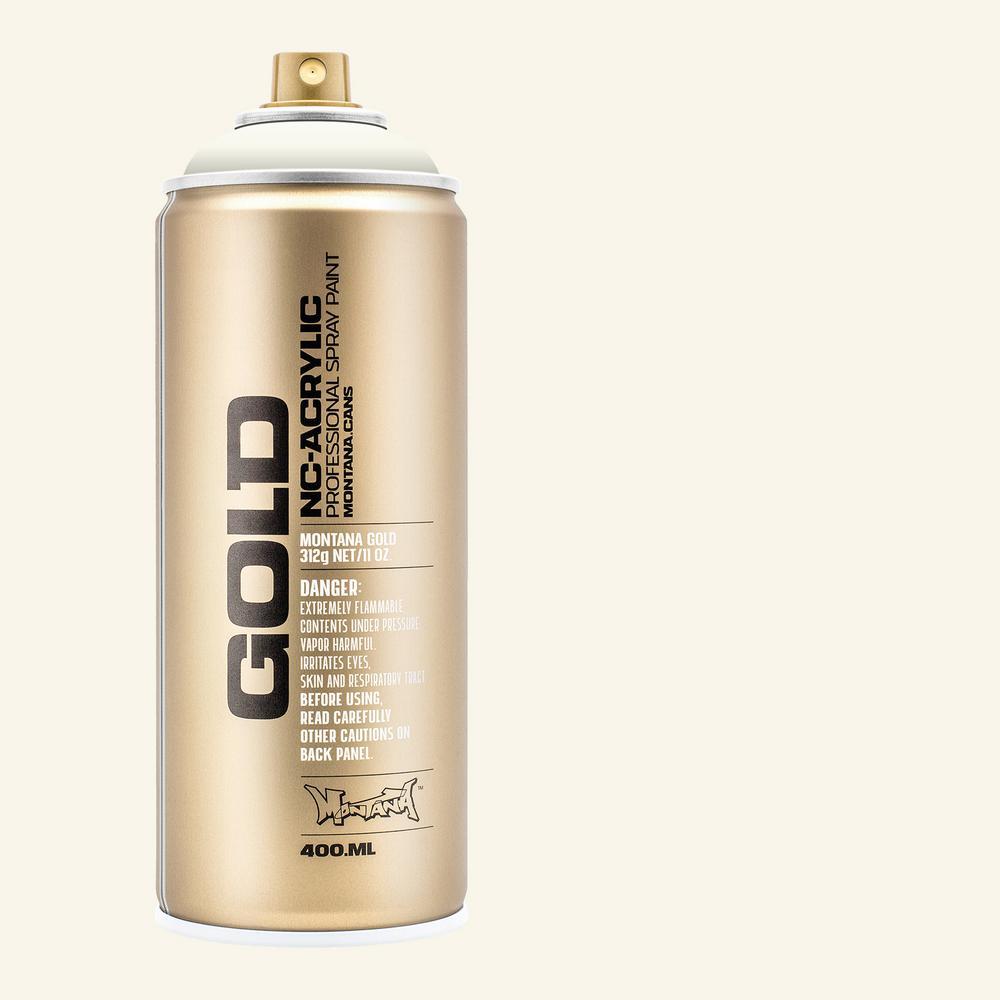 13 oz. GOLD Shock White Cream Spray Paint