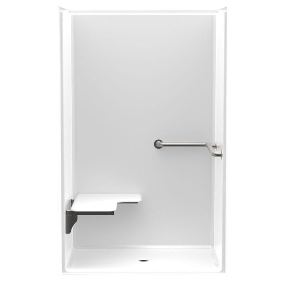 Accessible Smooth Wall AcrylX 46 in. x 36 in. x 75