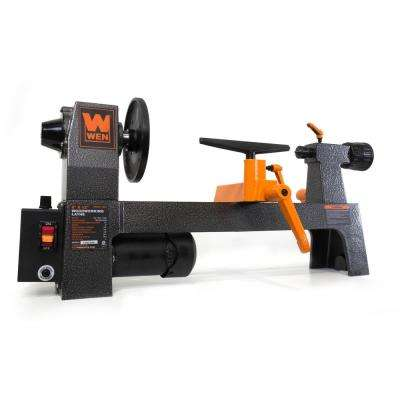 8 in. by 12-Inch Variable Speed Benchtop Wood Lathe