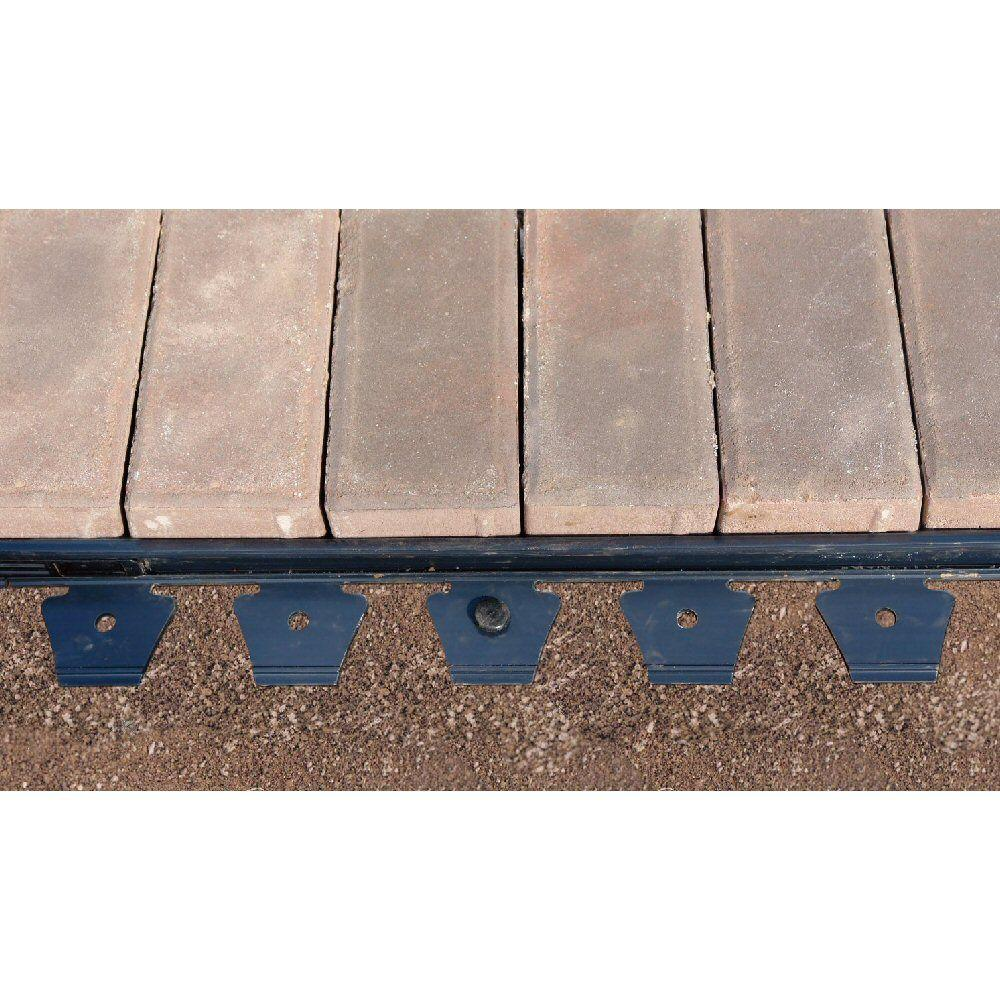 24 ft. Multipurpose Paver Edging Project Kit in Black