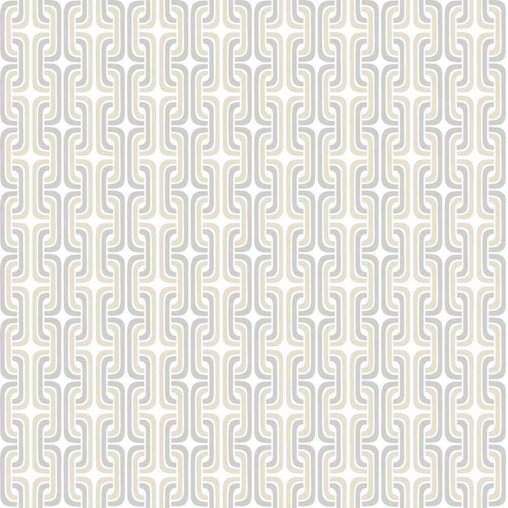 RoomMates 28.18 sq. ft. Oxidized Metal Peel And Stick Wallpaper RMK11333RL