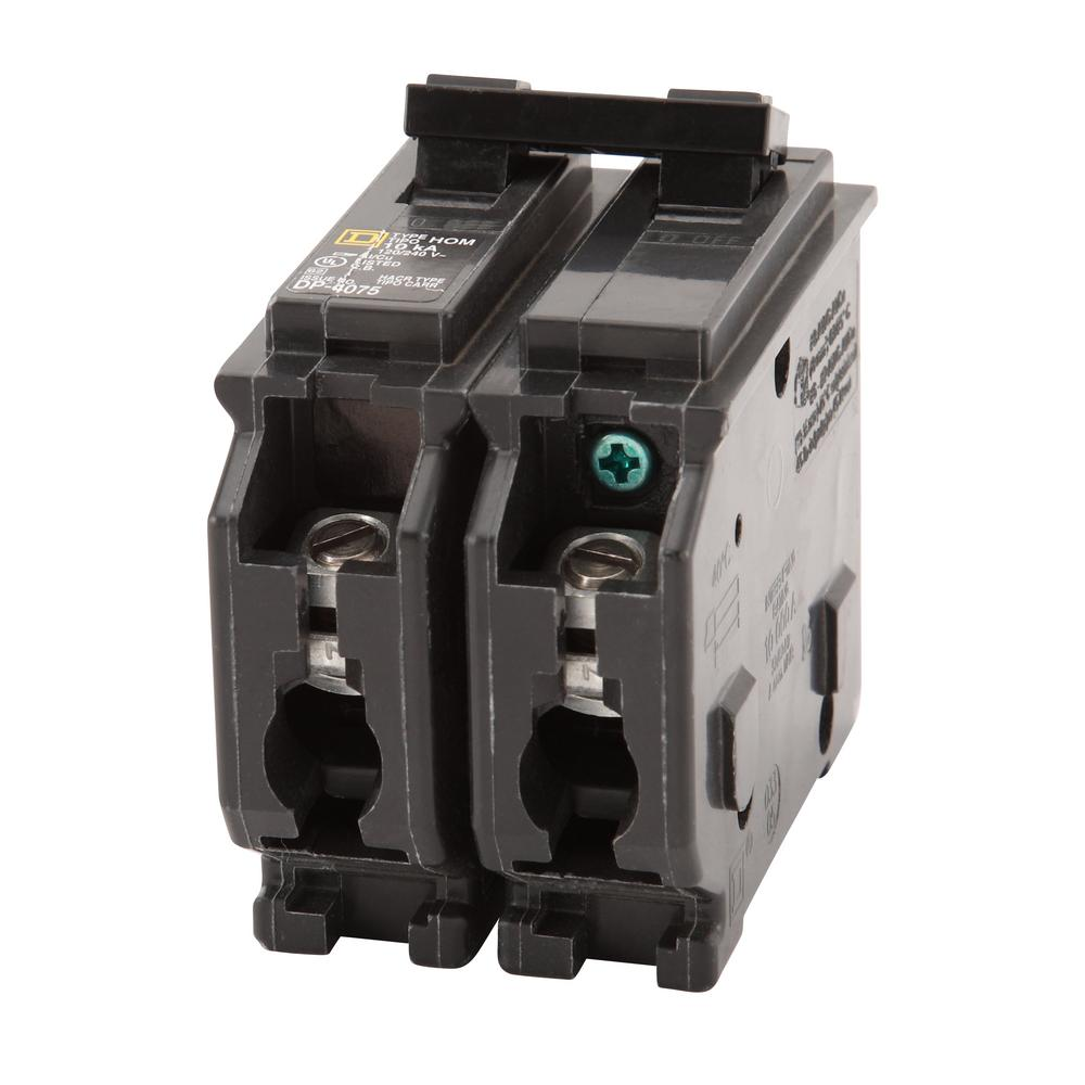 Square D Homeline 60 Amp 2-Pole Circuit Breaker on