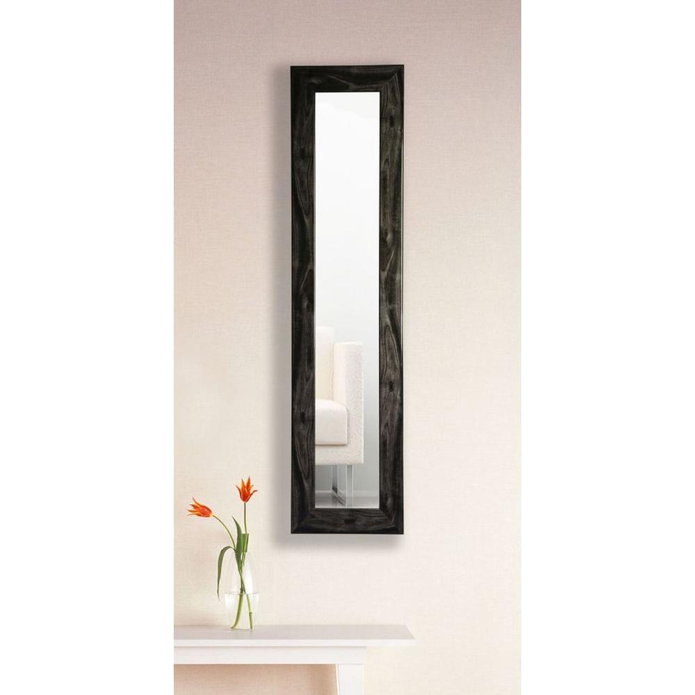 9189dbed0be 13.5 in. x 27.5 in. Black Smoke Vanity Mirror Single Panel-P45 10-24 ...