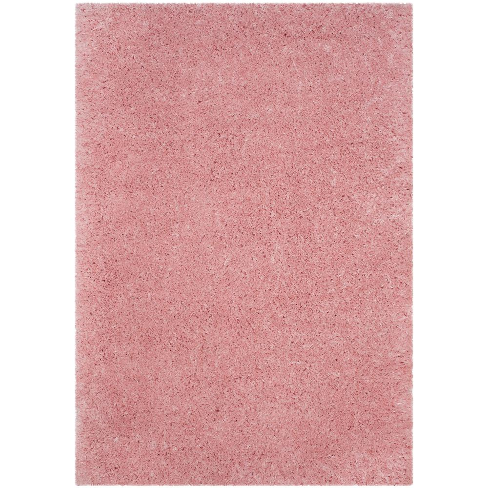Safavieh Polar Shag Light Pink 8 Ft. X 10 Ft. Area Rug