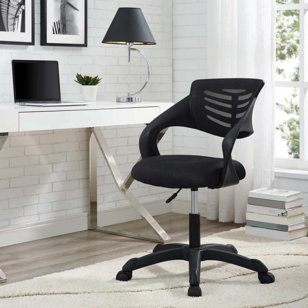 MODWAY Thrive Mesh Office Chair in Black EEI-3041-BLK