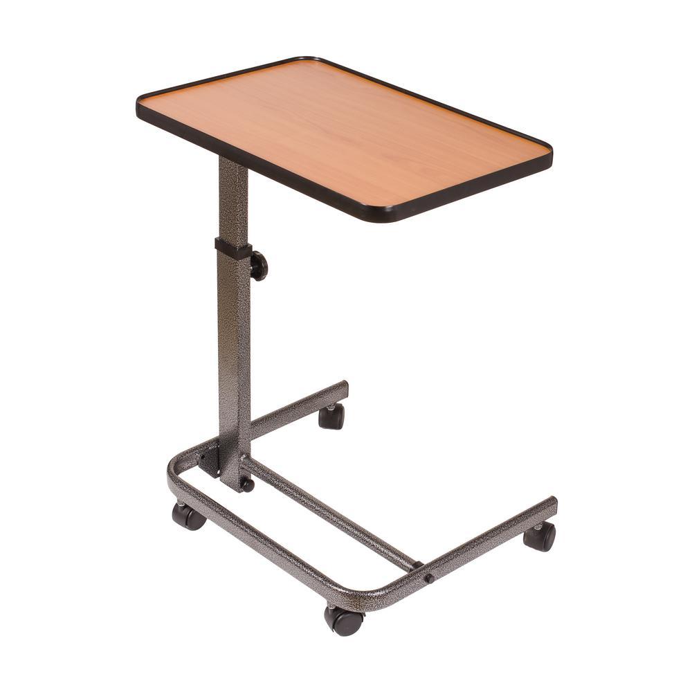 Deluxe Heavy-Duty Over Bed Tilt-Top Table
