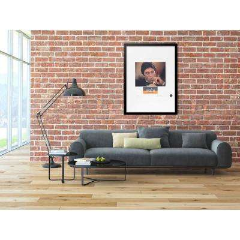 """30 in. x 22 in. """"Scarface VIP Cohiba Cigar Series"""" by Fairchild Paris Framed Print Ad Wall Art"""