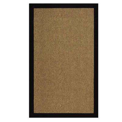 Cove Black/Natural 2 ft. x 3 ft. Area Rug