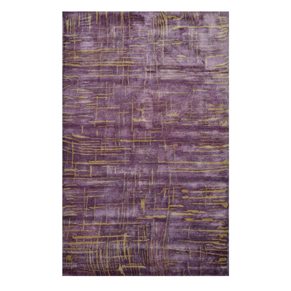 Filament Design Anagola Purple 5 ft. x 8 ft. Indoor Area Rug