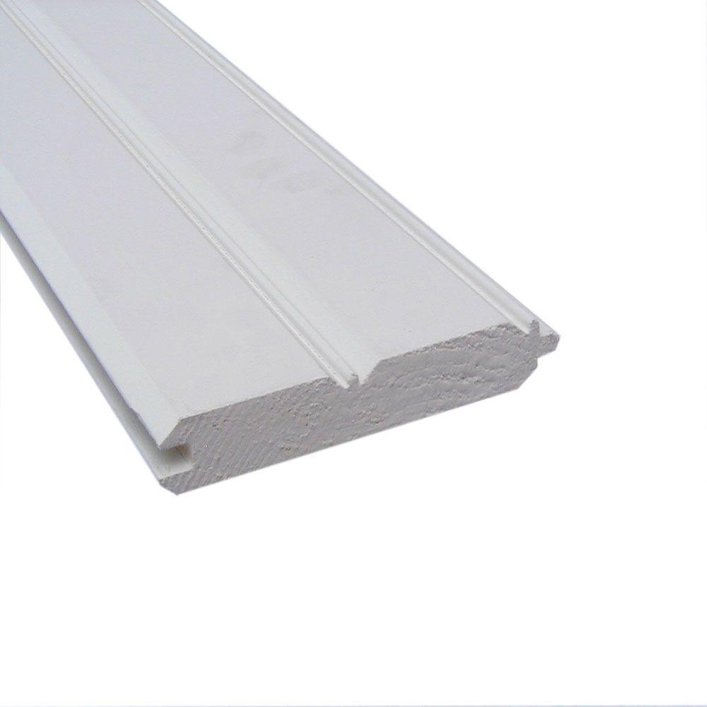1 In X 6 In X 12 Ft Primed Wood E And Cb Wp4 Finger Joint Board 369876 The Home Depot