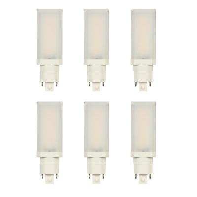 26-Watt Equivalent HPL Horizontal Direct Install Dimmable 3500K G24Q/GX24Q 4-Pin LED Light Bulb (6-Pack)