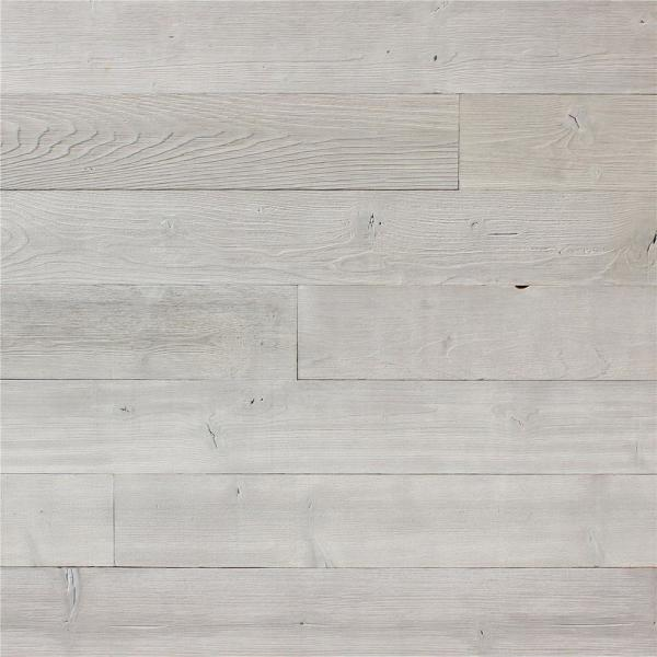 Ejoy 5 In W X 48 In L Reclaimed Peel And Stick Solid Wood Wall Paneling 1 Box Woodplanket C05 1box The Home Depot
