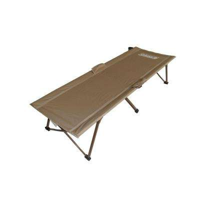 16 in. x 74 in. Camping Soft Green Cot