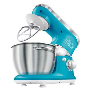 Sencor 4.2 Qt. 6-Speed Turquoise Stand Mixer by Sencor