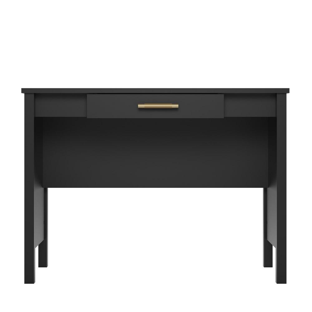 Meadow Ridge Black Computer Desk