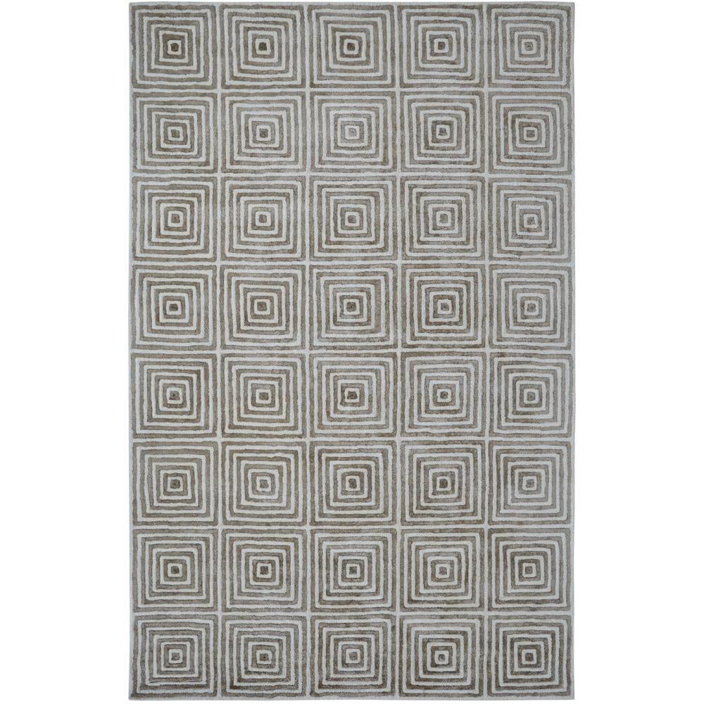 Celeste Ivory/Grey 2 ft. x 4 ft. Indoor Area Rug