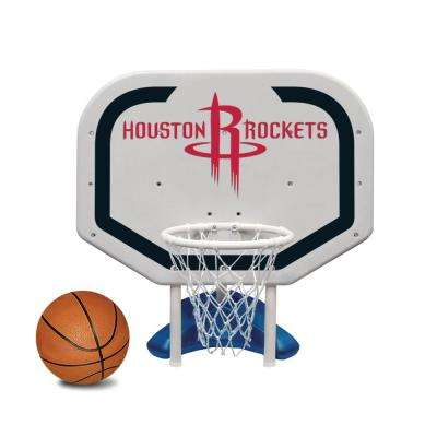 Houston Rockets NBA Pro Rebounder Swimming Pool Basketball Game