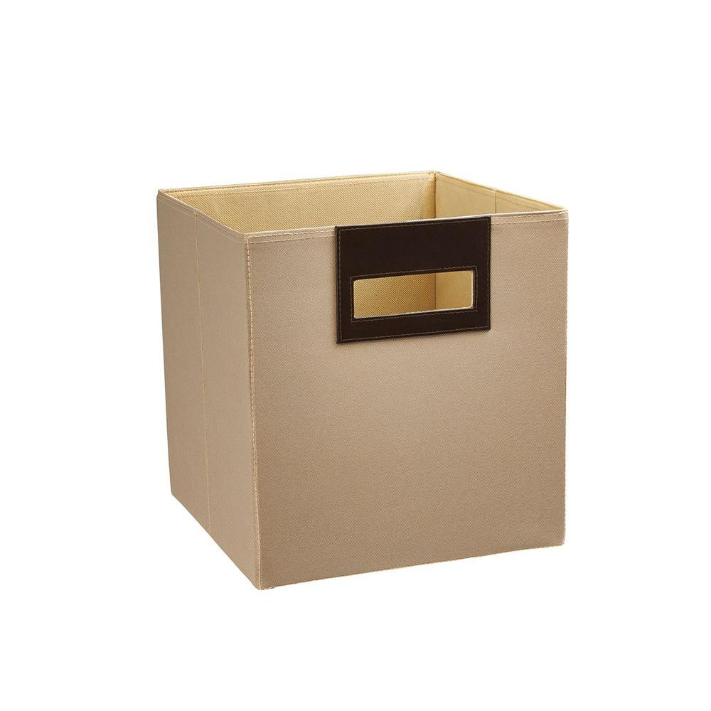 ClosetMaid 10.5 in. x 11 in. x 10.5 in. Toasted Almond Polyester Storage Drawer