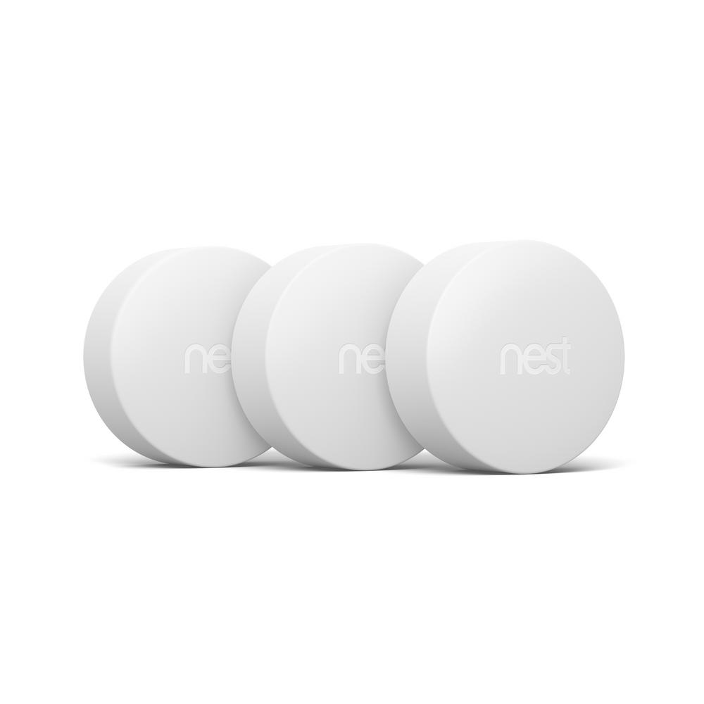 Google Nest Temperature Sensor for Google Nest Thermostats (3-Pack)