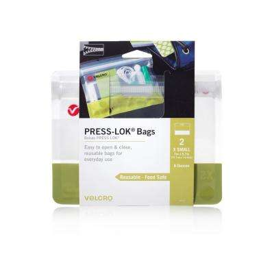 PRESS-LOK X-Small Reusable Bags (2-Count)