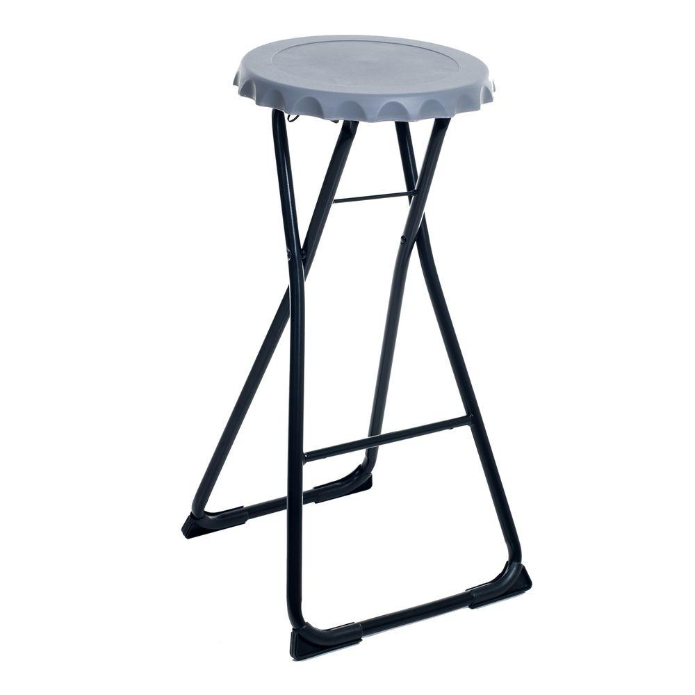 Stalwart Folding Bottle Cap Stool 82 Ss13046 Lg The Home