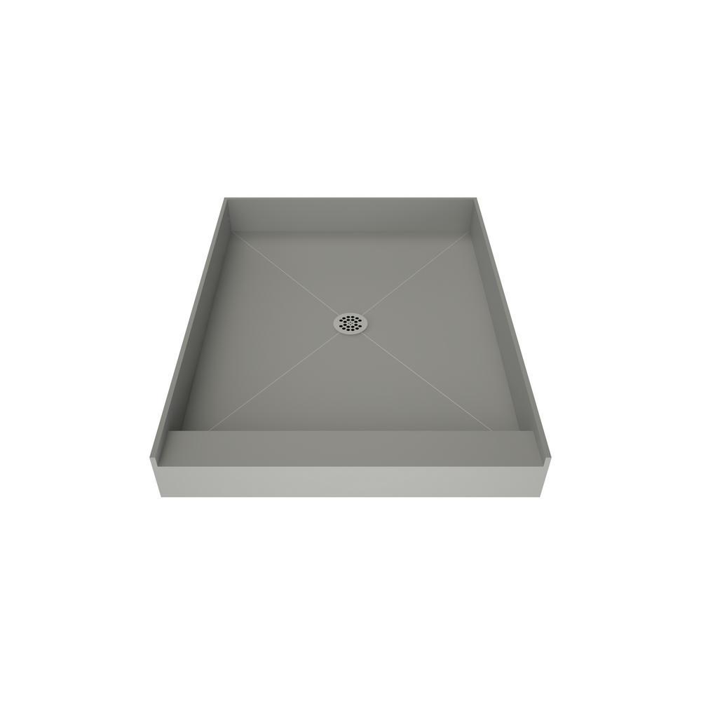 Tile Redi Redi Base 48 in. x 37 in. Single Threshold Shower Base with Center Drain