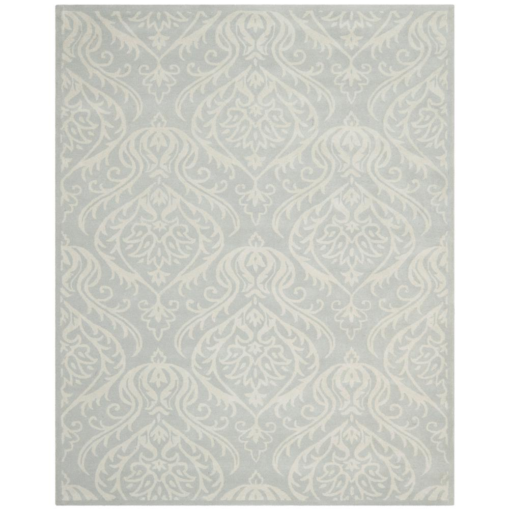 a476e2041 Safavieh Bella Silver Ivory 8 ft. x 10 ft. Area Rug-BEL445A-8 - The ...