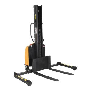 Vestil 1500 lb. Capacity 63 inch Narrow Mast Stacker with Power Lift and... by Vestil