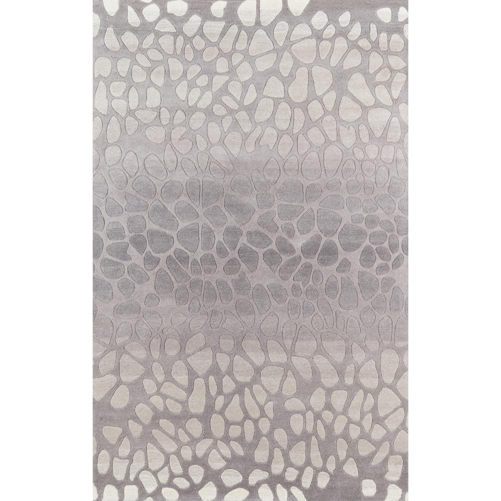 Delhi Silver 4 ft. x 6 ft. Indoor Area Rug